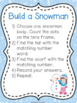 K.CC.3 Snowman Number Recognition 0-20