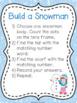 K.CC.3 Snowman Number Recognition 0-20