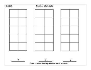 K.CC.5 Counting and Cardinality