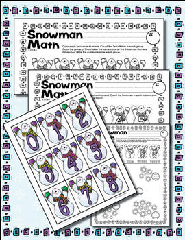 K.CC.B.5 - Counting for Kinders - Wonderful Winter Math -