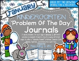KDG Problem of Day-JANUARY (daily word problem practice)