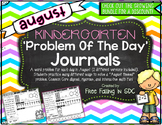 KDG Problem of the Day-AUGUST (daily word problem practice)