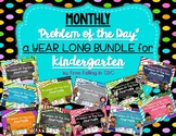 KDG Problem of the Day-A YEAR LONG BUNDLE