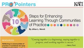 KDP ProPointers: Communities of Practice