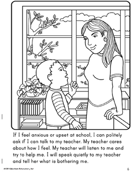 Social Story - BEHAVIOR Calm Down Strategies for Special Education and Autism