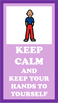 KEEP CALM posters for Special Education Classroom