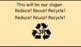 'KEEP IT CLEAN!' ~ MP4 Curriculum Karaoke™ READ, SING & LEARN Environmental Rap