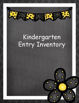 KEI Kindergarten Entry Inventory