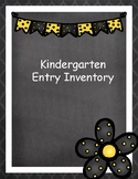 KEI Kindergarten Entry Inventory