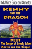 KENNY AND THE DRAGON  +  DRAGON of LONELY ISLAND + MERLIN AND THE DRAGONS