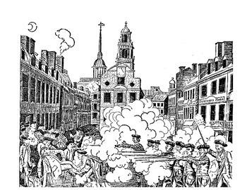 BOSTON MASSACRE VS KENT STATE MASSACRE: COMPARE AND CONTRAST (GRADES 8 - 12)