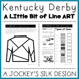 KENTUCKY DERBY ART: Elements of Art: Lines: Jockey Silk