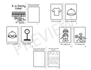 KENTUCKY DERBY: Mini Sight Word Books