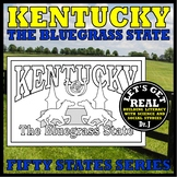 KENTUCKY: The Bluegrass State (Fifty States series)