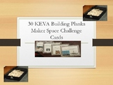KEVA Planks Challenge Cards Packet