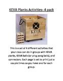 KEVA Planks STEM Activities