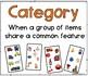 KEY Category Cards