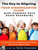 KEY TO ALIGNING KINDERGARTEN CLASS WITH COMMON CORE STATE STANDARDS