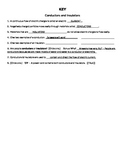KEY to Conductors and Insulators Review Worksheet