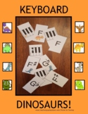 KEYBOARD DINOSAURS - a card game for beginning piano players