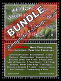 "KEYBOARDING – WORD PROCESSING – COMPUTER APPLICATIONS - ""21 Activity BUNDLE"""