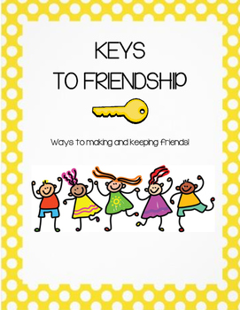 KEYS TO FRIENDSHP- THE 12 KEYS TO MAKING AND KEEPING FRIENDS