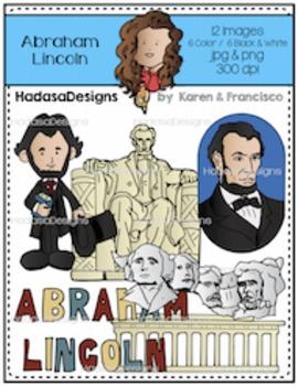 K&F's Abraham Lincoln Clip Art Set
