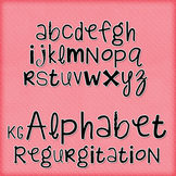 KG Alphabet Regurgitation Font: Personal Use