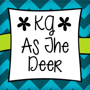 KG As The Deer Font: Personal Use