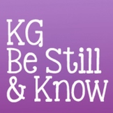 KG Be Still & Know: Personal Use
