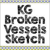 KG Broken Vessels Sketch Font: Personal Use