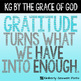 KG By the Grace of God Font: Personal Use