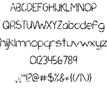 KG Chasing Pavements Font: Personal Use