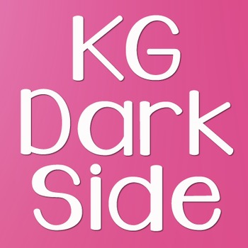 KG Dark Side Font: Personal Use