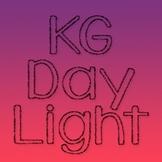 KG Daylight Font: Personal Use