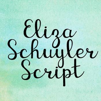 KG Eliza Schuyler Script Font: Personal Use