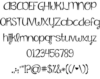 KG Falling Slowly Font: Personal Use