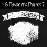 KG Flavor And Frames Seven Font: Personal Use