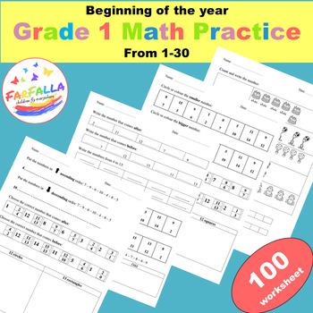 KG, G1 Math Practice