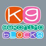KG Geronimo Blocks Font: Personal Use