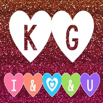 KG I And Love And You Font: Personal Use