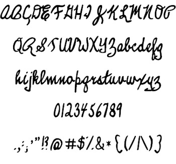 KG Legacy of Virtue Font: Personal Use