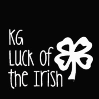 KG Luck of the Irish Font: Personal Use