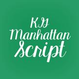 KG Manhattan Script Font: Personal Use