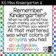 KG Miss Kindergarten Font: Personal Use