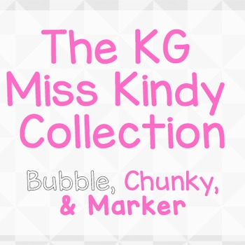 KG Miss Kindy  Font: Personal Use
