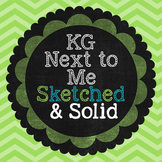 KG Next to Me Sketched Font: Personal Use