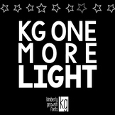 KG One More Light Font: Personal Use