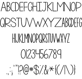 KG One More Night Font: Personal Use