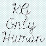 KG Only Human Font: Personal Use